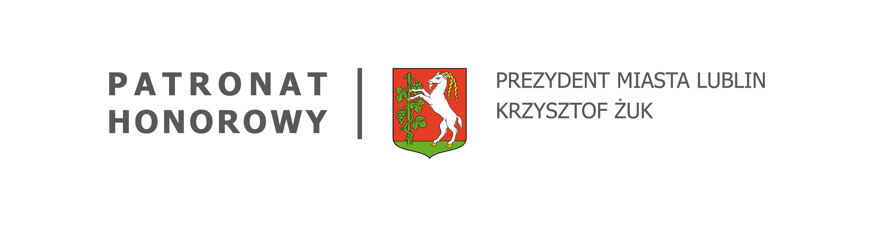 Patronat Honorowy, Prezydent Miasta Lublin Krzysztof Żuk